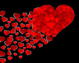 Sydän, sydämiä, rakkaus, ystävyys, rikkaus