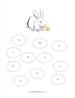 Language for Little Learners | Easter Worksheet