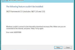 Cara Mengatasi Error Code 0x800F0906 pada Windows 8 dan Windows Server 2012