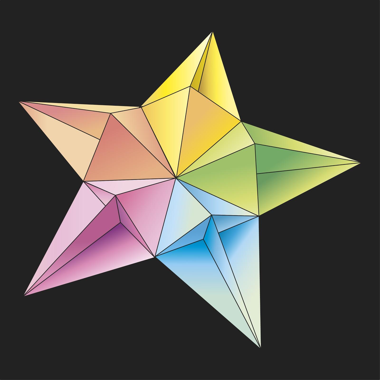 Origami poesie di carta stella diamante 1 francesco guarnieri