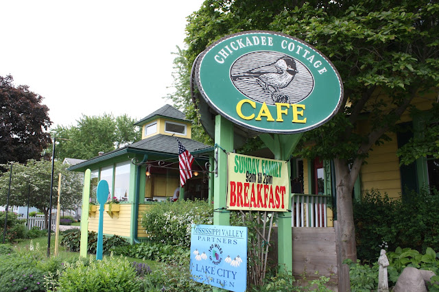 Chickadee Cottage Cafe in Lake City, Minnesota