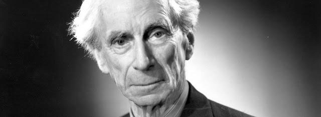 ¿NOS DA MIEDO PENSAR?, pensamientos célebres de Bertrand Russell