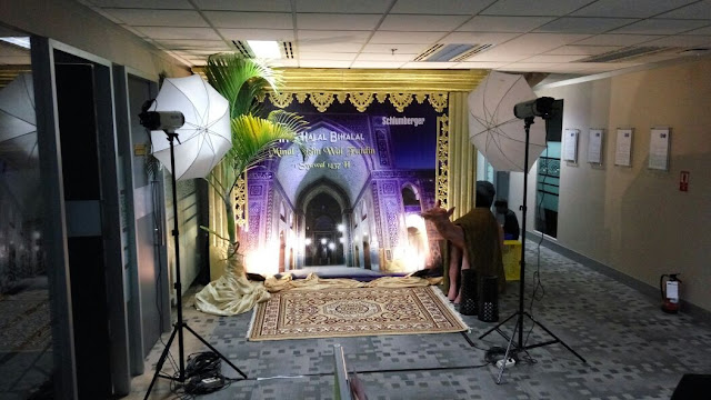 photobooth event halal bi halal