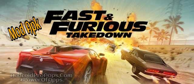 Fast & Furious Takedown تحميل لعبة السرعة والغضب مهكره اموال ونايترو