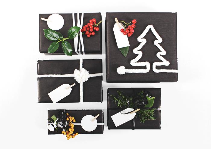 Weihnachtsgeschenke edel verpacken