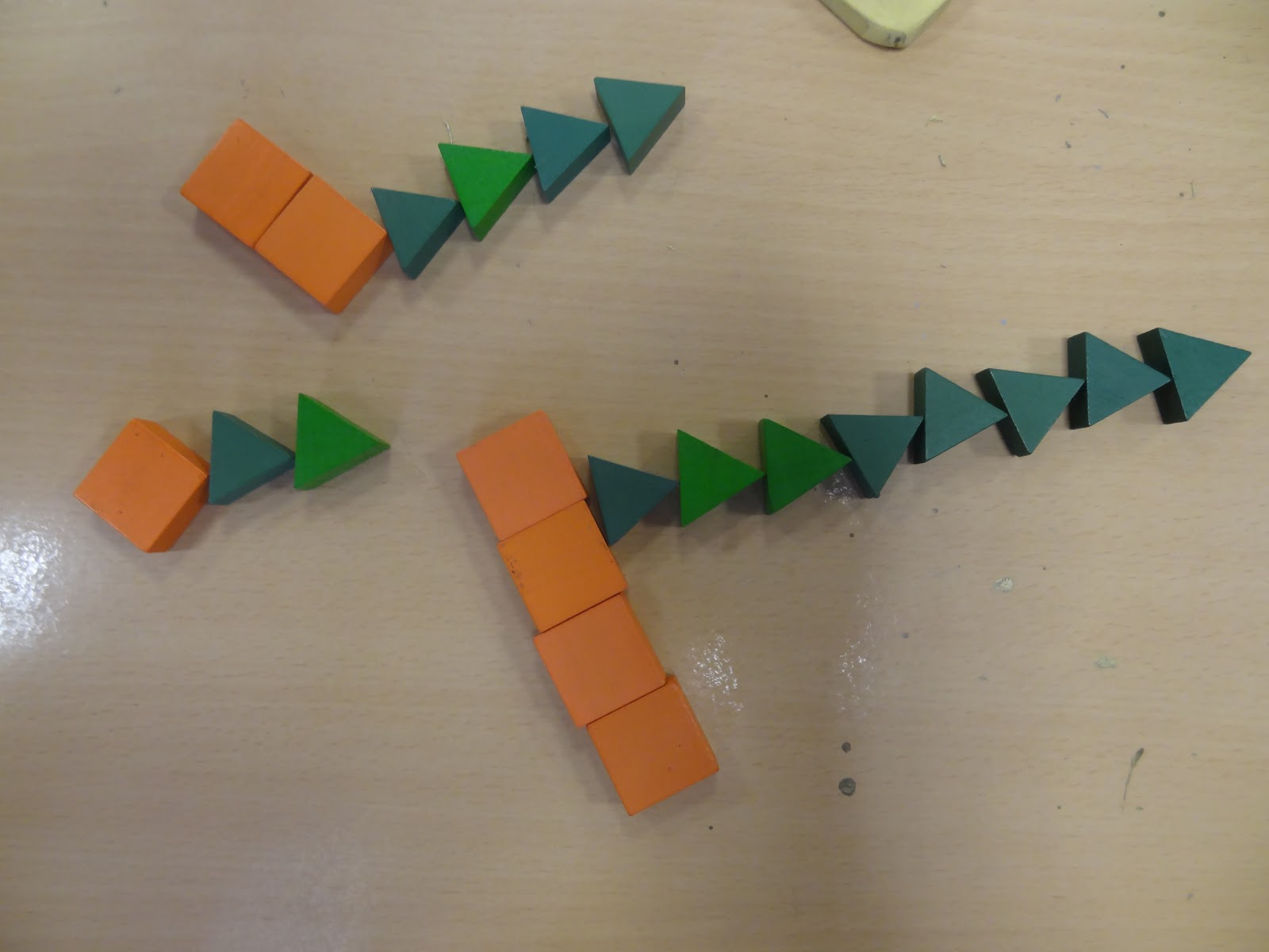 Y4 At Ist Ratio With Pattern Blocks