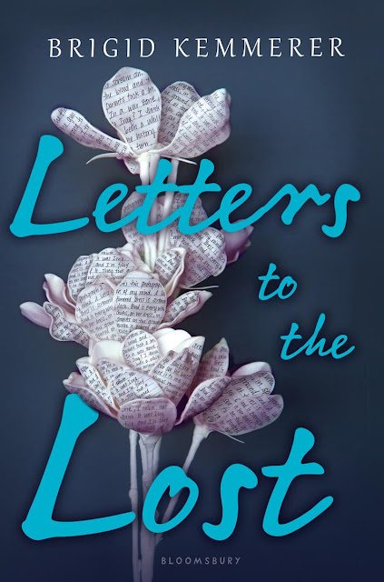 Beautiful 2017 Book Cover Designs Letters to the lost Bridgit Kemmerer flower letters creative