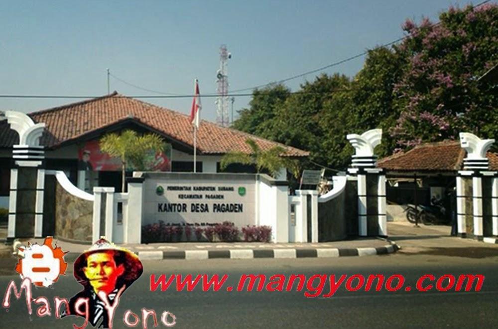 Kantor Desa Kamarung, Kecamatan Pagaden, Kabupaten Subang.