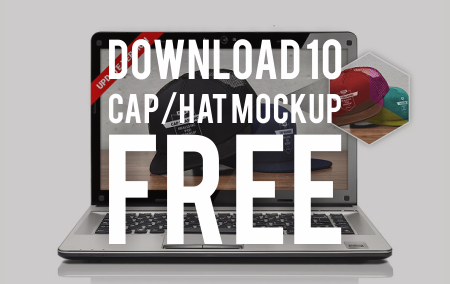 Download Gratis 10 Mockup Topi terbaik