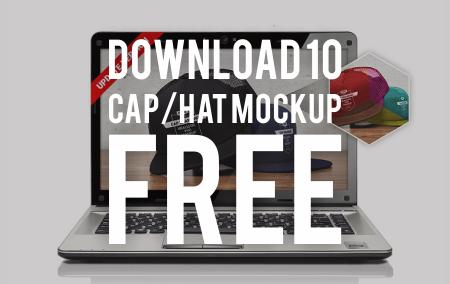 Download Gratis 10 Mockup Topi Terbaik