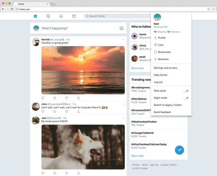 Twitter brings Bookmarks to the web version with a new design, now in testing