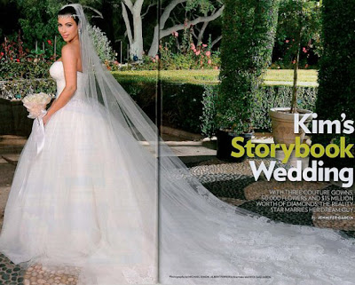 12 Fotos oficiais do casamento de Kim Kardashian...!
