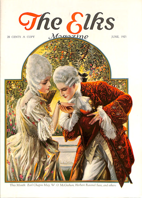 Cover by Paul Stahr for The Elks magazine 1925 June