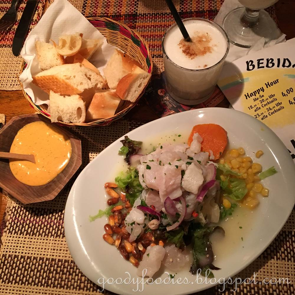 Goodyfoodies peruvian food restaurant el inca cologne germany the restaurant can get very busy so reservations are essential english menus are available for tourists the menu consists of entrees salads nachos forumfinder Image collections