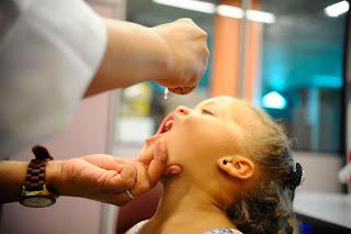 PB ainda tem que vacinar mais de 40 mil crianças para atingir meta