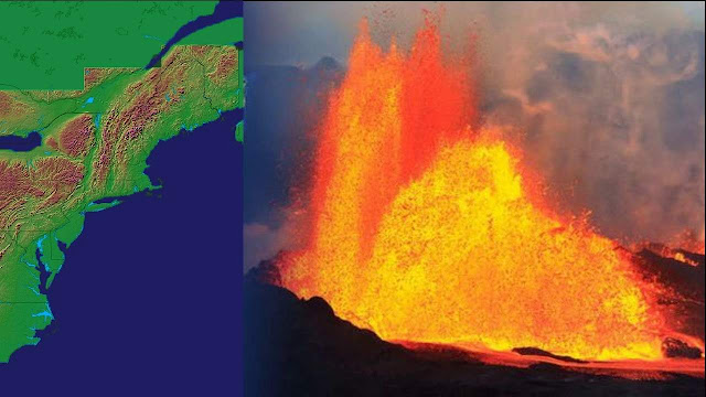 Huge Mass of Molten Rock Rising Under Parts of New England