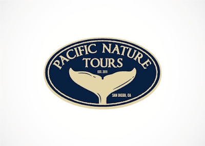 pacific nature tours logo design