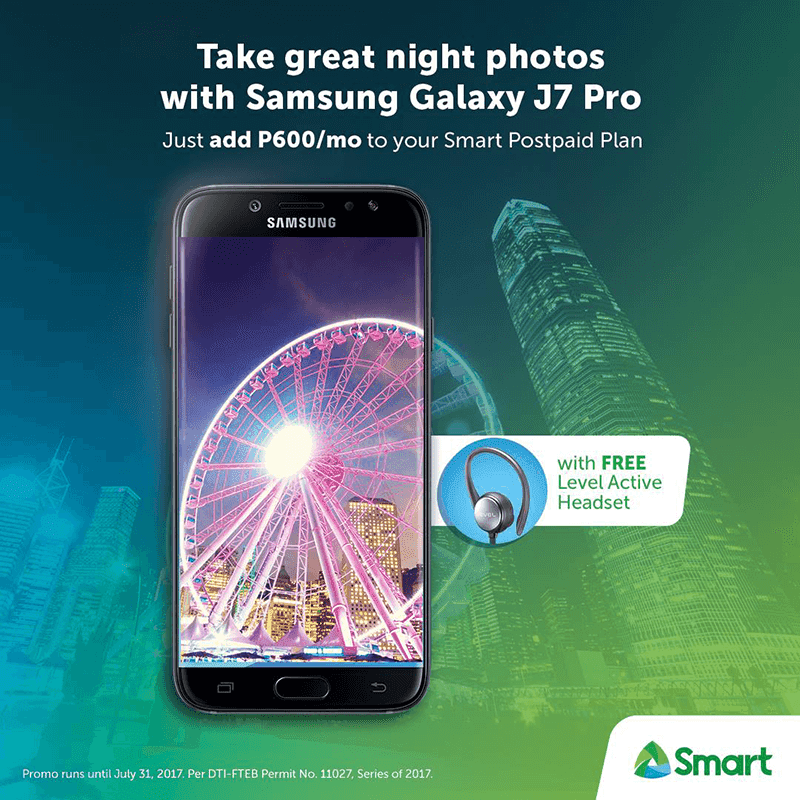 Samsung Galaxy J7 Pro Now Available At Smart's Postpaid Plan