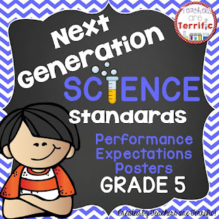NGSS Posters! Are you ready to decorate your science space with the Next Generation Science Standards? Here's a great way to do that!
