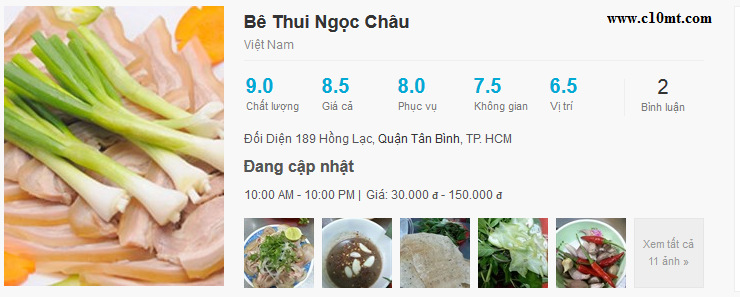 be thui giang ghe