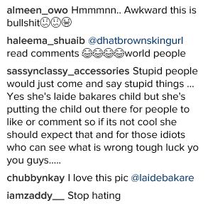 Actress Laide Bakare got backlash