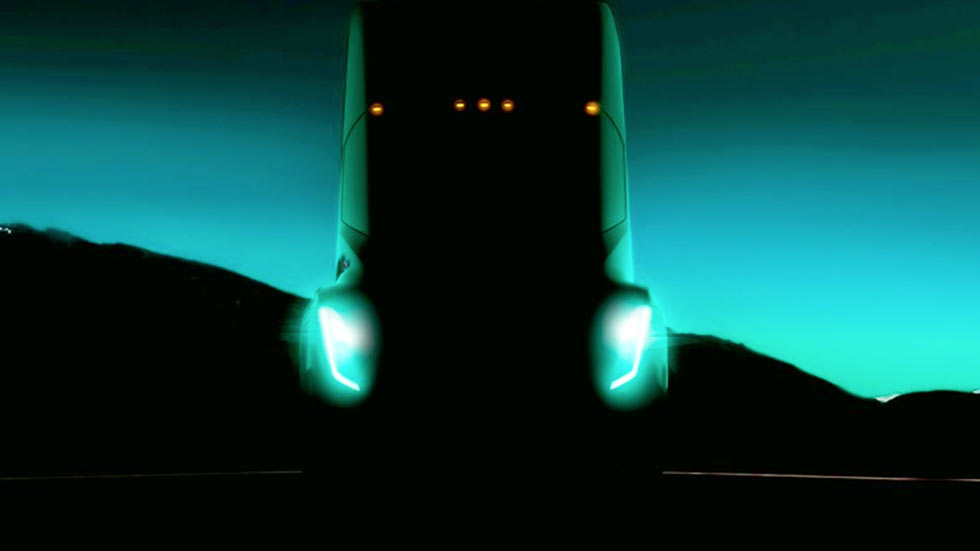 Tesla Seeks to Test Electric Truck Prototypes for Platooning and Self-Driving