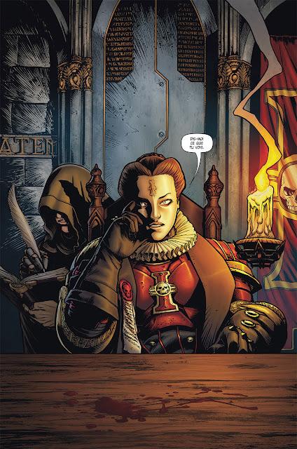 Page de Warhammer 40 000 T1 Volonté d'Acier de Mann et Bettin chez Soleil