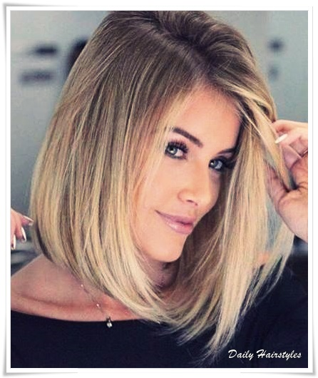 15 Trendy Medium Short Hairstyles 2019 Female - Daily Hairstyles ...