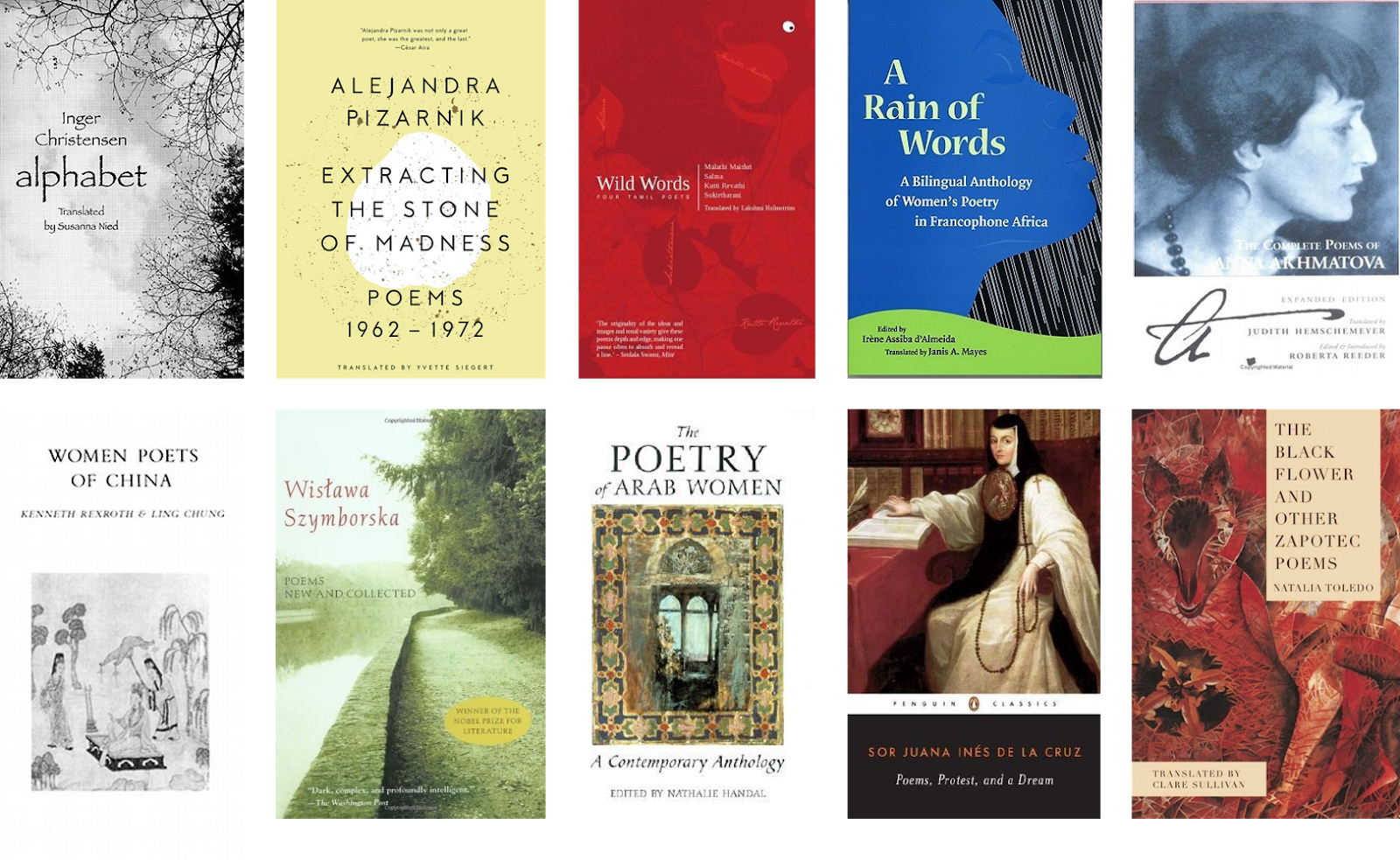Biblibio Witmonth Day 15 10 Recommended Poetry Books