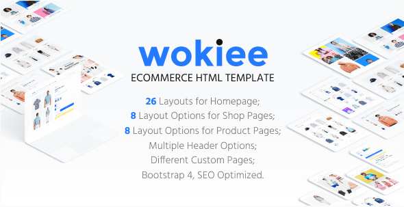 Wokiee - Ecommerce HTML Template
