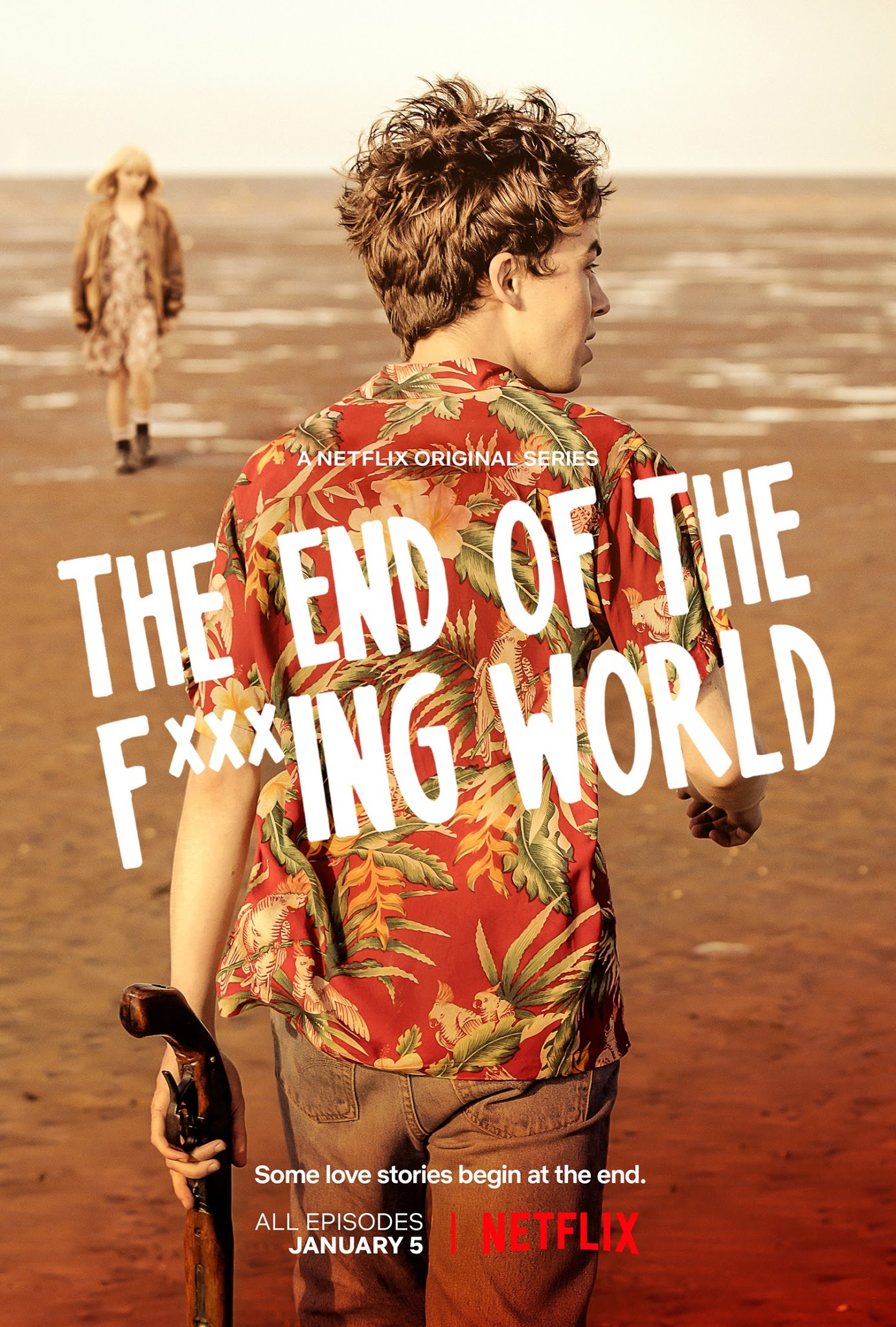Resultado de imagen para the end of the f *** ing world poster