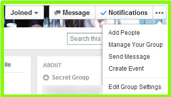how do I create a private group on facebook