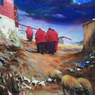 Люди и пейзажи Тибета. Ming Jing Wang