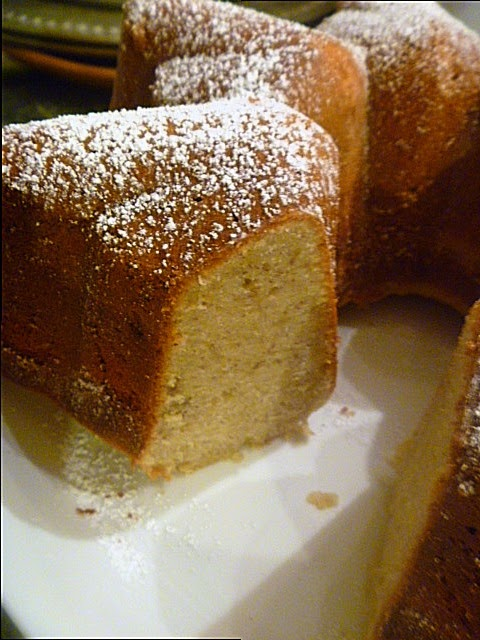 Banana Bundt Cake is light and luscious!!!  Perfect for any celebration, or just because...Slice of Southern