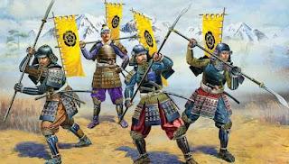 Pasukan terkuat di dunia / Samurai / Catatan Adi