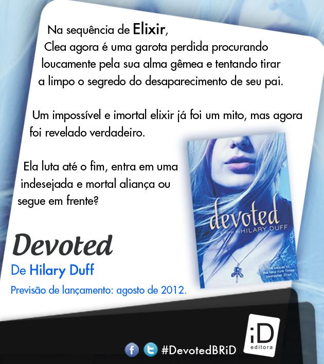 "News: ""Devoted"", da autora Hilary Duff no Brasil. 17"