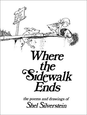 Shel Silverstein poem art, Modgie Podgie Project #2 - Canvas Shel Silverstein Poem Art