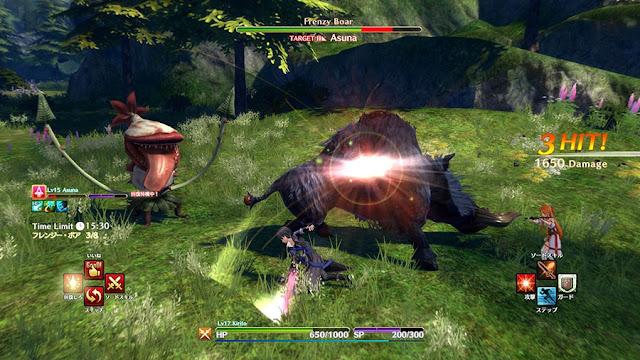 Sword Art Online: Hollow Realization expande su experiencia con nuevo contenido gratuito