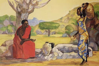 Jesus and the woman at the well in an African culture