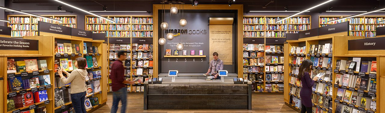 Amazon bricks and mortar shop