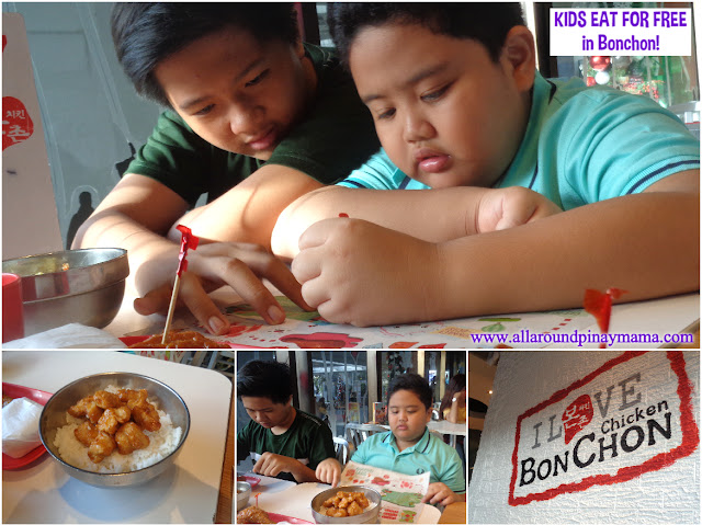 Bonchon Philippines, Activities for Kids, Food, Product Review, Bonchon Kiddie Adventure Meal, Promo Philippines, AAPM Favorites, AAPM Recommends, All-Around Pinay Mama blog, SJ Valdez
