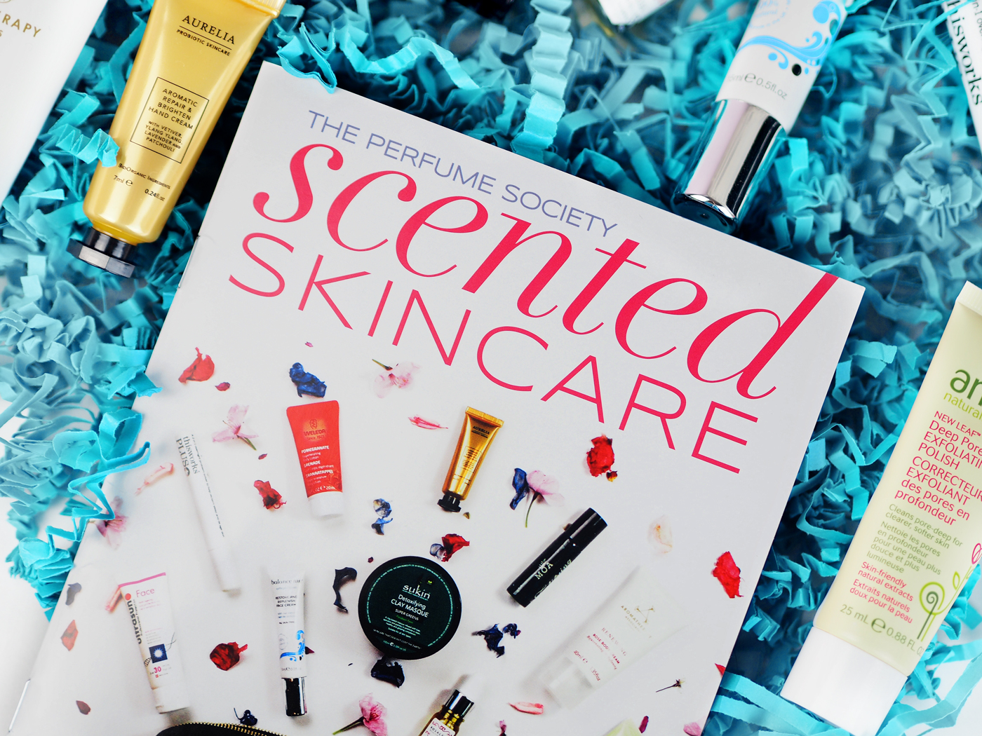 The Perfume Society Scented Skincare Unboxing