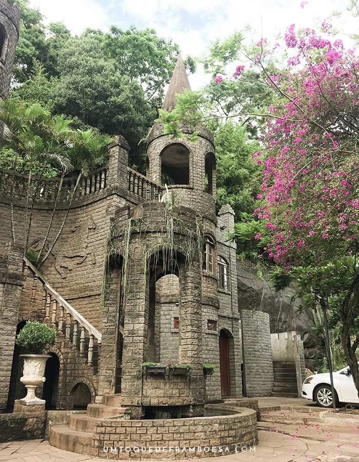 Castelletto dal Pozzo, um mini castelo medieval em Matelândia, Paraná