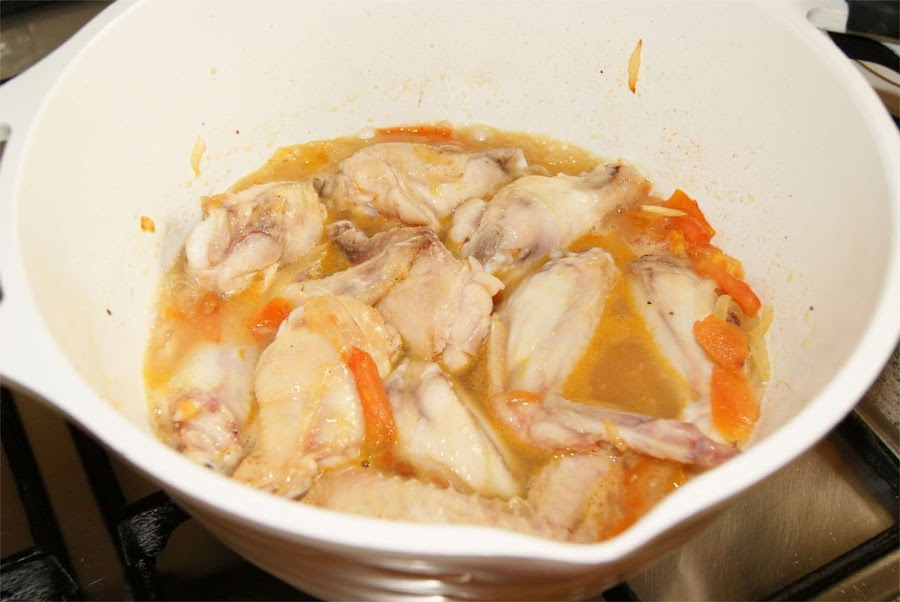 Alitas de pollo al limon paso 3
