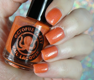 Octopus Party Nail Lacquer Hawaii Five Beaux | Ella Ann Cosmetics Summer 2017