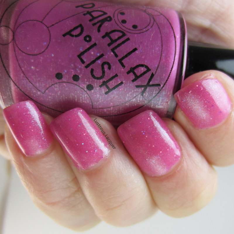 Jelly-Pink-polish-with-sparkle
