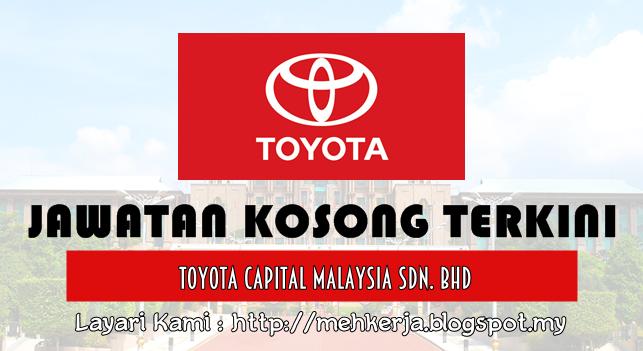 Jawatan Kosong Terkini 2016 di Toyota Capital