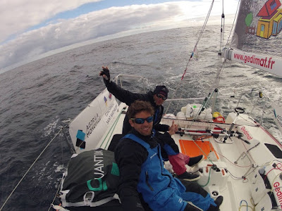 Thierry Chabagny et Erwan Tabarly reviennent sur Agir.