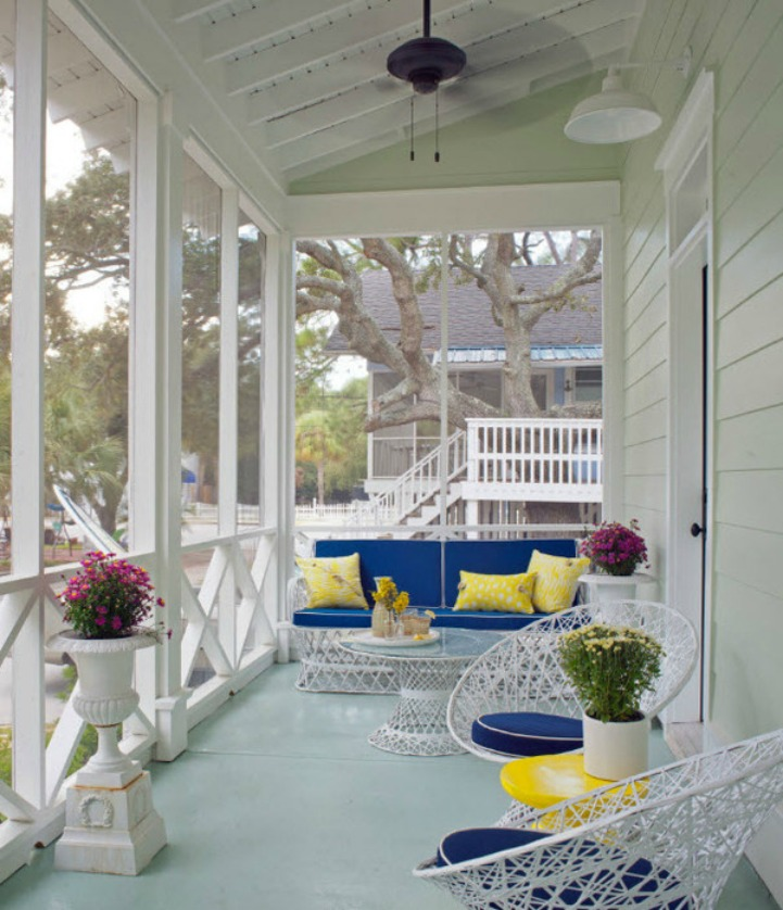 Tybee beach house with lots of coastal style