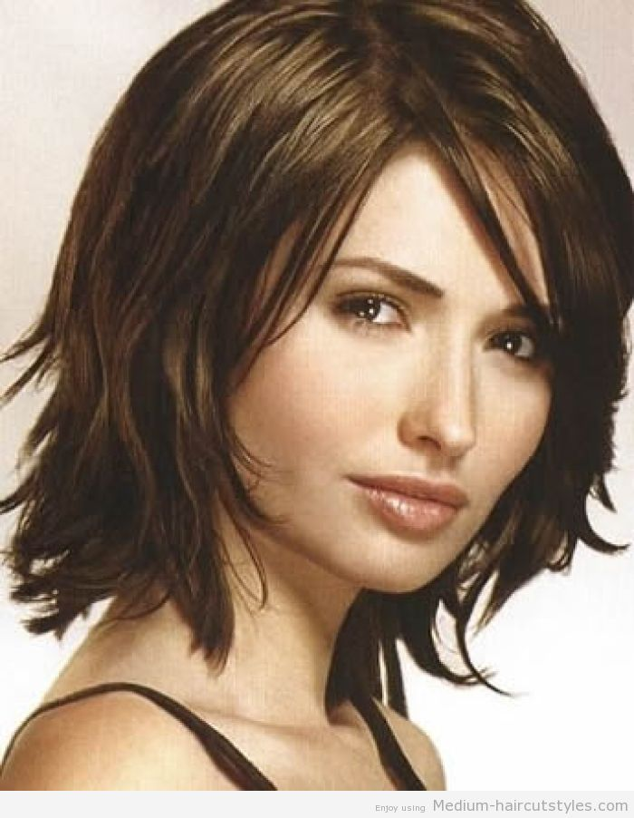 Medium Haircuts For Thick Hair Short Haircuts For Women Over 40